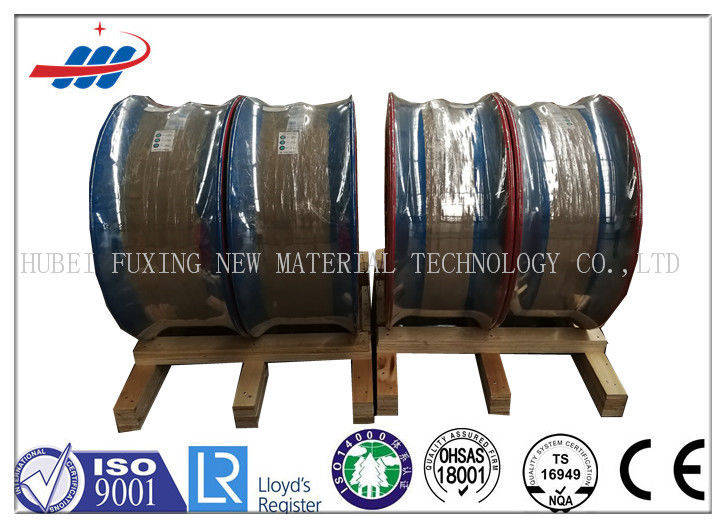 Non - Alloy Copper Coated Mig Wire Steel Rod For Radial Tire , OEM Service