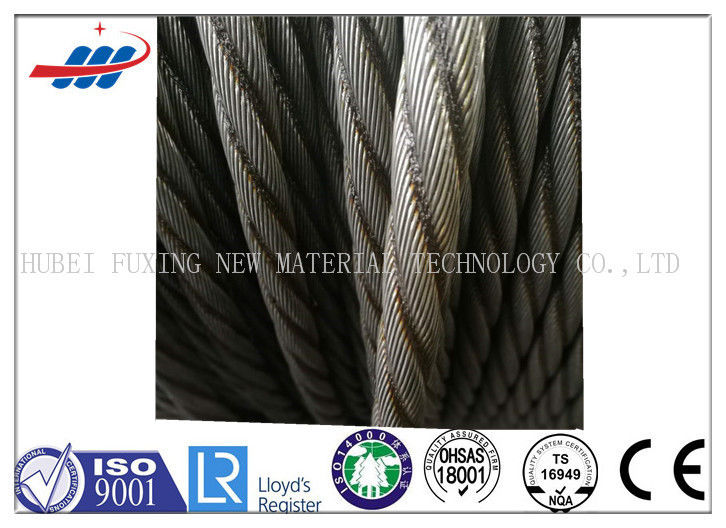 Professional Elevator Wire Rope 6-13mm With 1370/1770MPA Tensile Strength