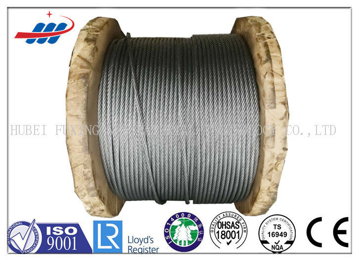 Anti Rotation High Tensile Wire Rope , Steel Wire Cable For Heavy Machinery