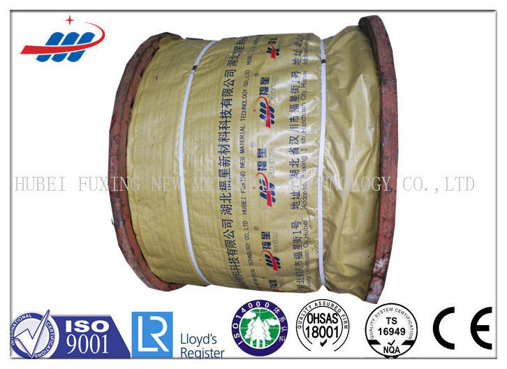 Durable Ungalvanized Steel Wire Rope 6-48mm Gauge , 1570-1960MPA Tensile Strength