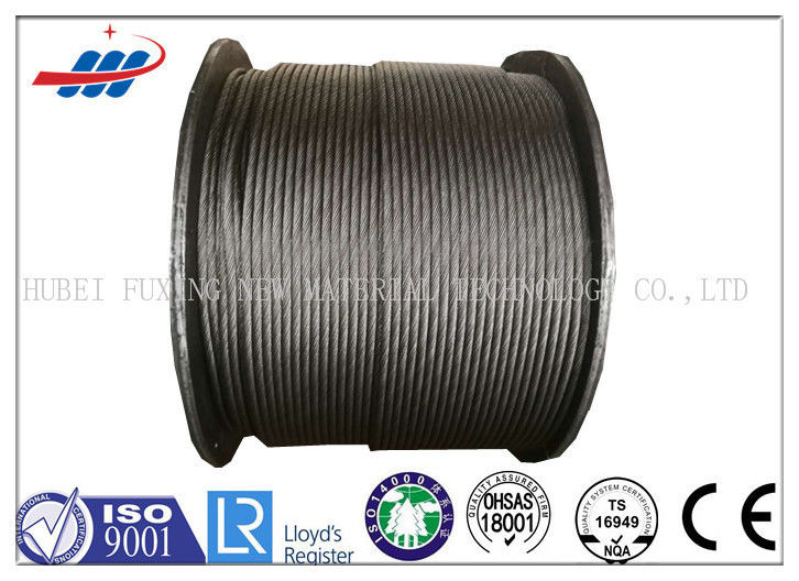 Professional Steel Wire Rope For Cranes / Hauling , 6-48mm Wire Gauge