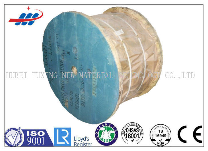 Ungalvanized Non Rotating Cable 6x25FI+FC For Lifting , 10m-2000m / Reel